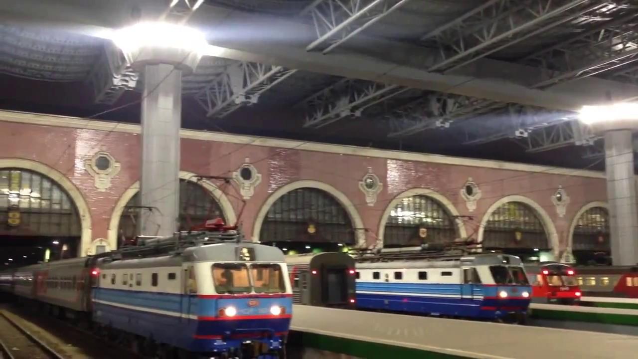 Казанский ж/д вокзал г.Москва - YouTube