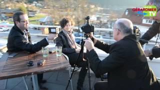 E. BARTEL et D. DERCOURT aux Rencontres du Cinéma de Gérardmer 2015