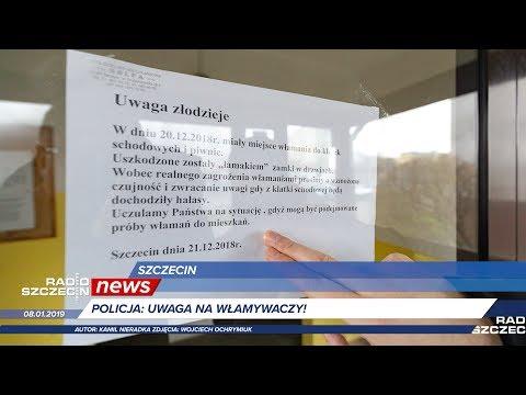 Radio Szczecin News 08.01.2019