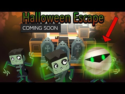 Rolling Sky - Halloween Escape Coming Soon! - New Character