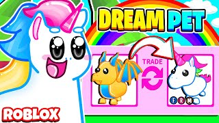 Trading My GOLDEN EGG Pet To Get My DREAM PET! Roblox Adopt Me