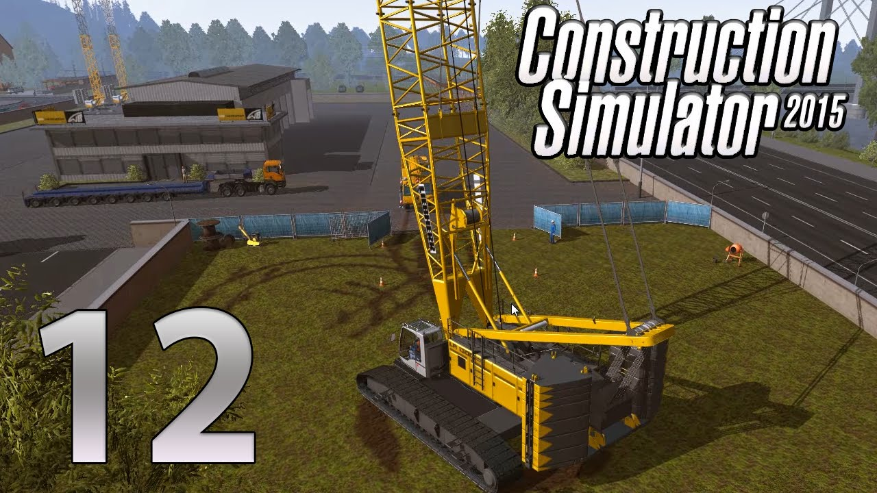 construction simulator 2015 gold edition episode 12 big biiiig