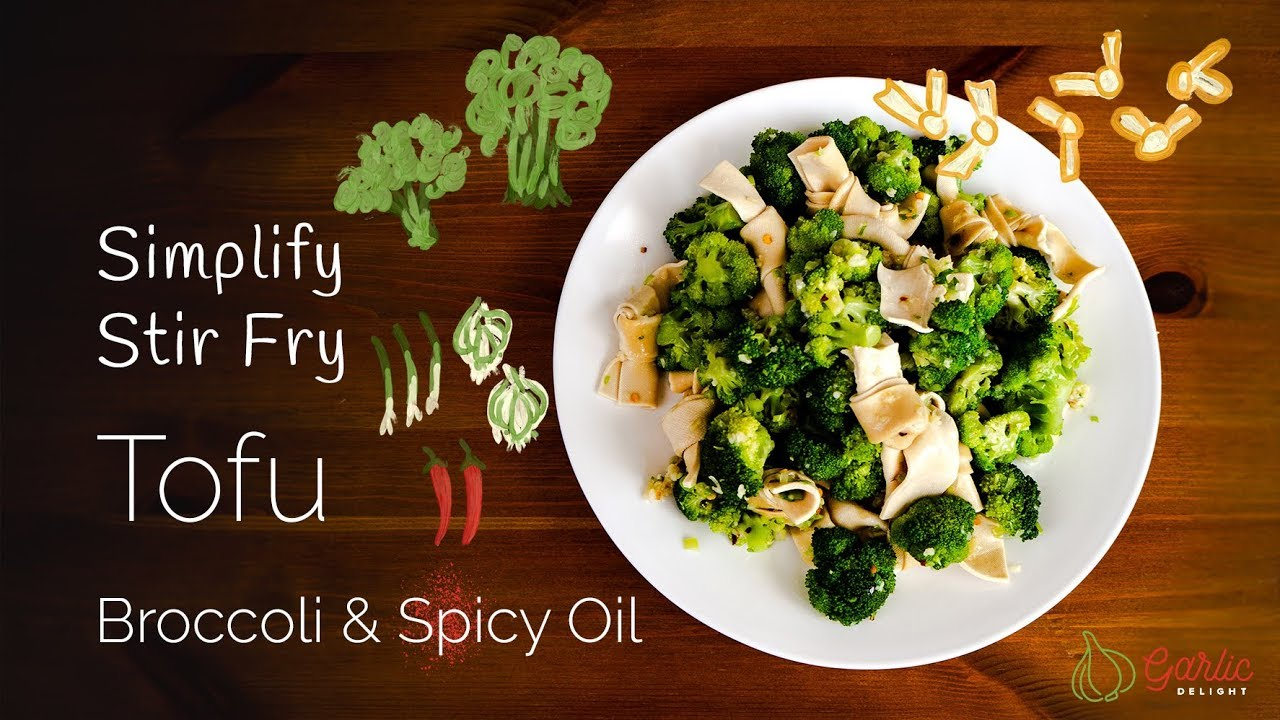 How To Make Tofu And Broccoli Salad Youtube