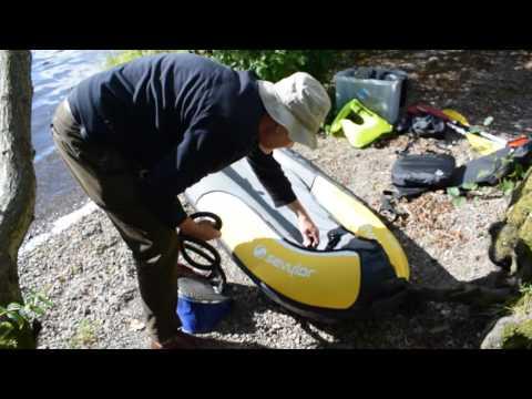 Sevylor Colorado inflatable kayak