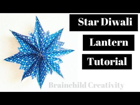 Easy Star Diwali Lantern Tutorial | How To Make Handmade Lantern