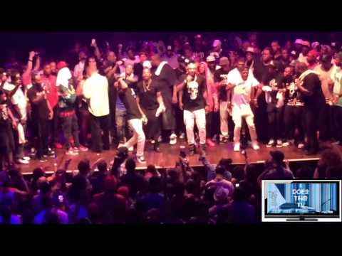 Maino X 2Milly Live Milly Rock @ Webster Hall I Does This Tv