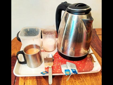 How to make  tea by using an Electric Kettle