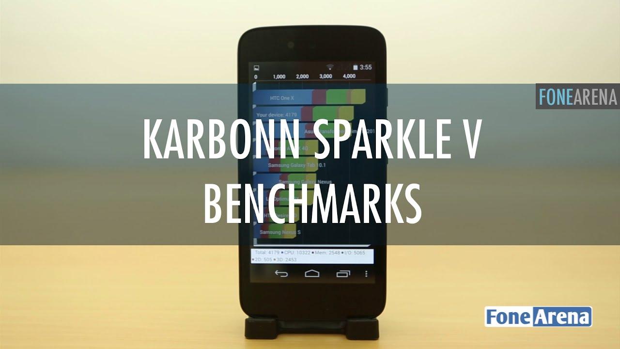 Karbonn Sparkle V Benchmarks