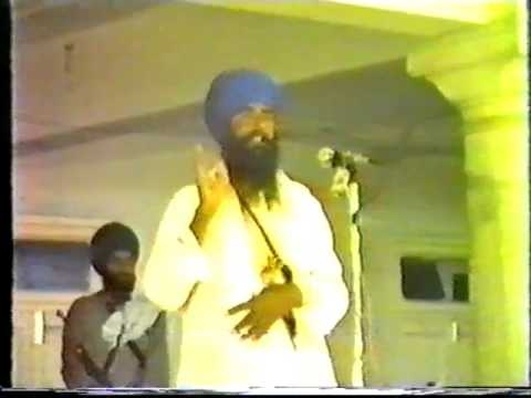 Historic Moments - Rare Speeches of Sant Jarnail Singhji Bhindranwale 1984 Historic Moments- Part 6