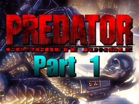 Predator Concrete Jungle Pt 1 Playthrough XBox Original Game