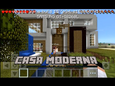 descargar casa moderna para minecraft youtube