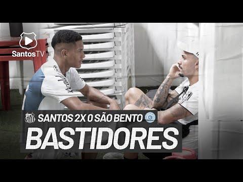 SANTOS 2 X 0 SÃO BENTO | BASTIDORES | PAULISTÃO (09/05/21)