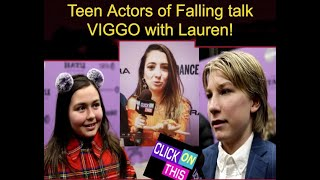 Teen Actors talk Viggo and Falling - Sundance 2020