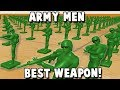 Green ARMY MEN's BEST Weapon!  (Home Wars Gameplay Part 5)