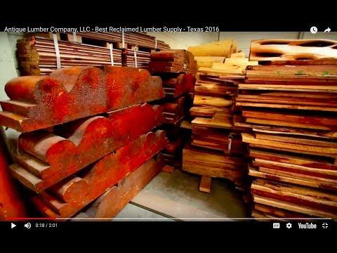Antique Lumber Company, LLC - Best Reclaimed Lumber Supply - Texas 2016