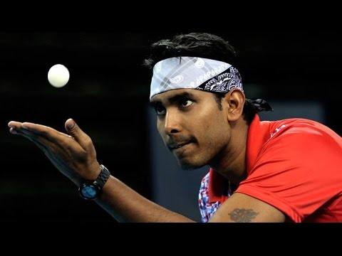 Achanta Sharath Kamal - Indian table tennis player