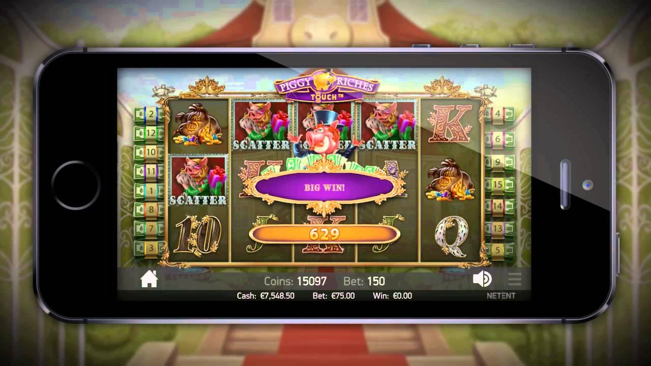 Piggy Riches Online Spielautomat