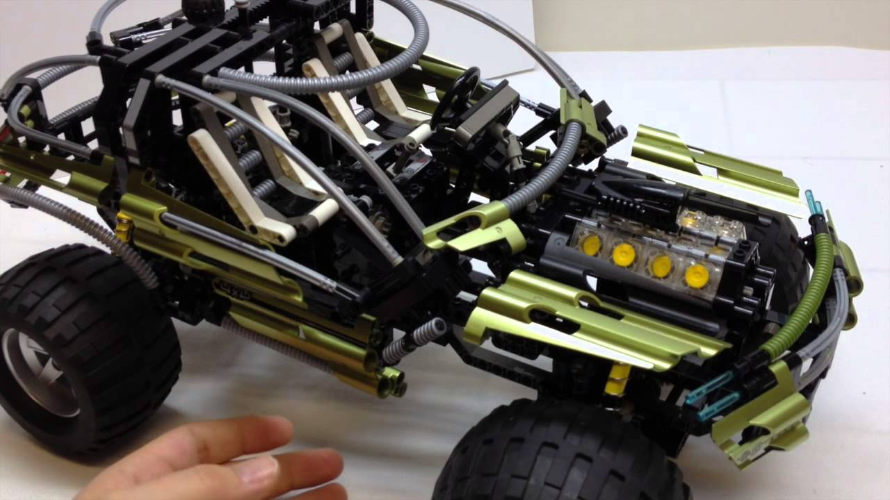 lego technic 8466 4x4 off roader review youtube. Black Bedroom Furniture Sets. Home Design Ideas