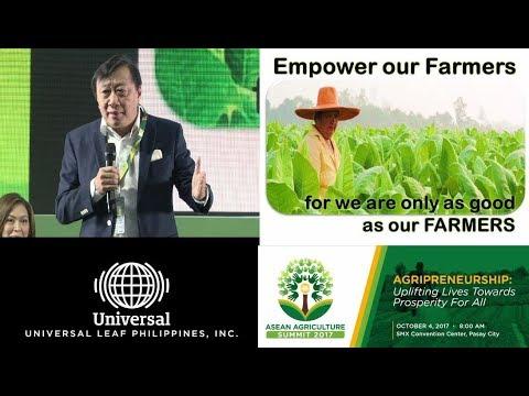Winston P. Uy ASEAN Agriculture Summit 2017