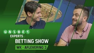 Unibet Experts – Betting Show: WK-aflevering 3