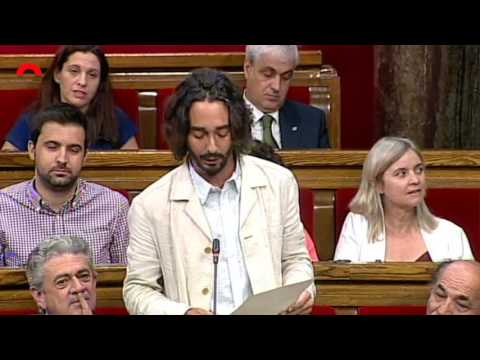 Carles Castillo pregunta sobre el cessament del DG de la Policia