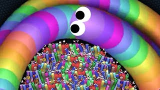 Slither.io A.I. 100,000+ Score Epic Slitherio Gameplay