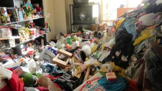 Hoarder house turned into a beautiful home. Before and After