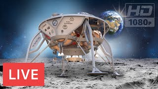 WATCH NOW: MOON LANDING! 🌚🚀SPACEIL #Beresheet-Israel @3:05pm EST