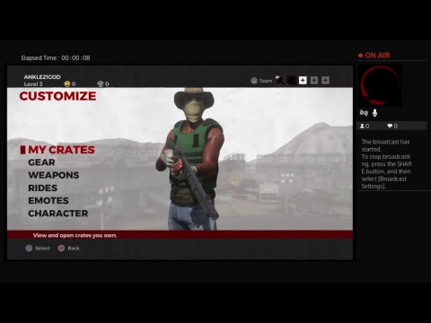 Playing a new game h1z1 to see what's its about the game