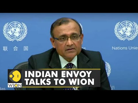 Indian Envoy to UN TS Tirumurti talks to WION   Latest World English News   WION News