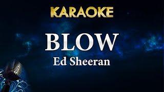 Ed Sheeran - BLOW ft. Chris Stapleton & Bruno Mars (Karaoke Instrumental) Video