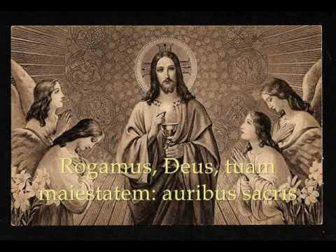 Attende Domine - Catholic Hymns, Gregorian Chant - YouTube