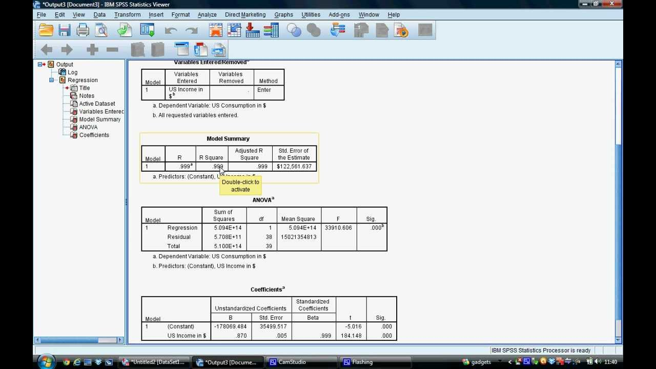tutorial 4 estimating a regression equation in spss tutorial 4 estimating a regression equation in spss
