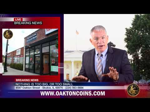 Oakton Coins & Collectibles = Gold, Silver, Platinum, Coins, Jewelry. Chicago Area Coin Shop