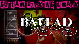 ballad guitar backing track bm em   60 bpm megabackingtracks