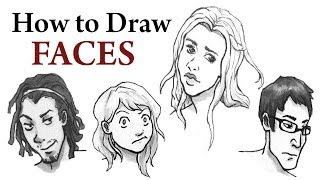 How to Draw Different Faces