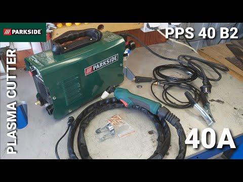 Parkside PPS 40 B2 plazmová rezačka po 1 roku používania reze oceľ ako papier...