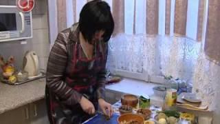 Как приготовить салат из картофеля и грибов