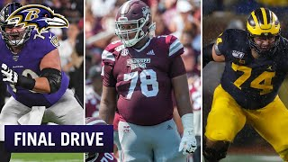 Interior Offensive Line Will Have Great Competition | Ravens Final Drive
