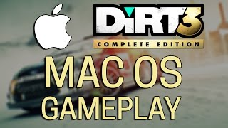 DiRT 3 Complete Edition - MAC OS X Gameplay test