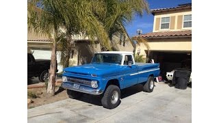 1964 CHEVY C10 WITH A 3/4 TON 4X4 SUSPENSION