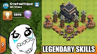 Th9(5896) Legendary Player Attacking Skills I Clash Of Clans 2018