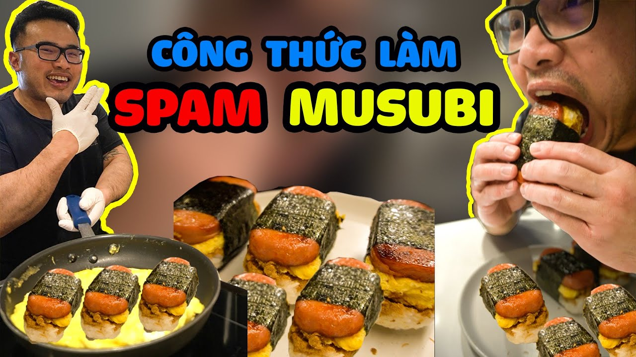 SPAM MUSUBI.Recipe #shorts