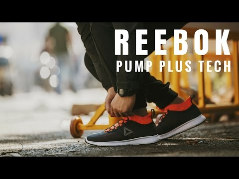 ec5a98c68 Reebok Pump Plus Tech - Unboxing and On Feet Review - YouTube