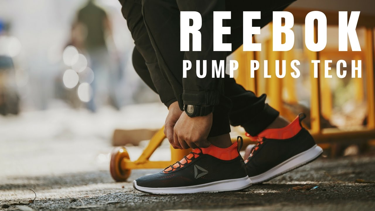 61500ca56918 Reebok Pump Plus Tech - Unboxing and On Feet Review - YouTube