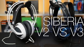 Steelseries Siberia V3 and V3 Prism Unboxing and Review