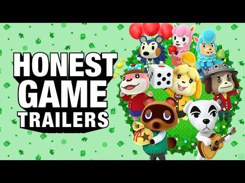 ANIMAL CROSSING (Honest Game Trailers)