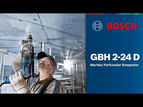 Martelo Perfurador Rompedor GBH 2-24 D