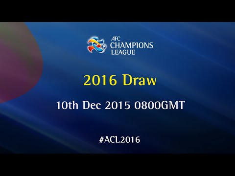AFC Champions League 2016: Official Draw