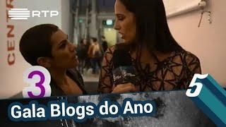 Beatriz Gosta na Gala Blogs do Ano 2018 | 5 Para a Meia-Noite | RTP